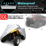 Xxl Universal Atv Cover Waterproof Uv Rain Dust Resistant All Weather Protection