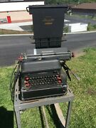 Vintage International Electromatic Model-a 1940andrsquos Electric Typewriter Worksandnbsp