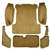 For Jeep Wagoneer 63-73 Carpet Standard Replacement Molded Dark Brown Complete