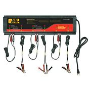 Buspro 660 12v 5 Charging Amps 6 Units Stationary Smart Battery Charger Station