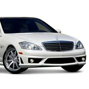 For Mercedes-benz S350 11-12 Amg Style Fiberglass Front Bumper Cover Unpainted