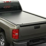 For Chevy Silverado 3500 Hd 07-19 Tonneau Cover Jackrabbit Full-metal Hard
