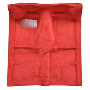 For Mitsubishi Mighty Max 83-86 Carpet Essex Replacement Molded Maroon Complete