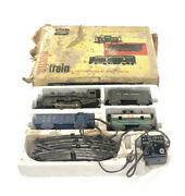 1950s Marx Allstate New York Central Electric Train Set 9725 Original Untested