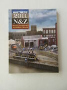 Walthers 2011 N And Z Model Railroad Reference Book Color Photos Buildings Train