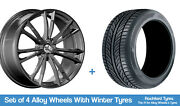 Mille Miglia Winter Alloy Wheels And Snow Tyres 19 For Bentley Brooklands 08-11