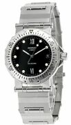 Movado Vizio 37mm Stainless Steel Black Dial Menand039s Watch 84.c2.888