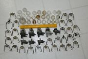 Vintage Johnson Evinrude Outboard Motor Glass Fuel Bowl Assembly Parts Lot