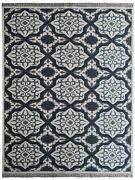 Hand Knotted Wool 9and039x12and039 Area Rug Geometric White Charcoal Bbh Homes Bbsw0004
