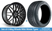 Zito Winter Alloy Wheels And Snow Tyres 19 For Audi A6 Allroad [c7] 11-18