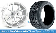 Zito Winter Alloy Wheels And Snow Tyres 19 For Audi A8 [d4] 09-17