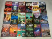 Big Lot 18 Catherine Coulter Books Fbi Thriller Series 1-17, 19 Near Complete