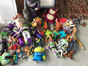 Huge Lot Of Vintage Toy Story Toys Woody Jessie Pricklepants And More