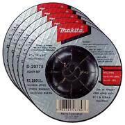 Makita 5 Pack - 4 Inch Grinding Wheel For 4 Grinders - Aggressive Grinding For