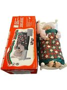 Telco Animated Motionette Christmas Sleeping Mrs Claus W/sound Snoring Whistling