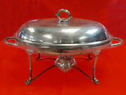 Antique 1802 William Sumner London Sterling Silver Chafing Dish 1478 Grams