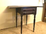 Kittenger Drop Leaf Pembroke Table. In Good Condition Just Needs A Little Cleani
