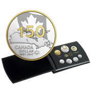 2017 Special Edition Canada 150 Our Home And Native Land Pure Silver Proof Set