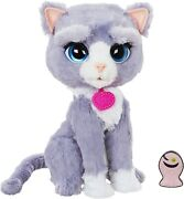 New Furreal Friends Bootsie Cat Kitty Interactive Plush Toy Pet Soft Fur Real
