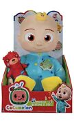 Cocomelon®️ Musical Bedtime Jj Doll With Plush Tummy And Roto Head Free Ship