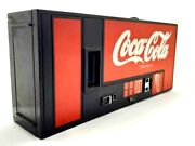 Vintage 1980s Coca-cola Vending Machine Radio Am/fm Not Tested On His Condition