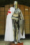 Medieval Wearable Knight Crusader Suit Of Armour Halloween New Year Gift Costume