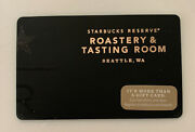 2014 Starbucks Reserve Roastery Seattle, Wa,usa. Gift Card Collection