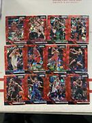 Bam Adebayo 2018/19 Panini Prizm 226 Red Wave Prizms Parallel-sold As A Lot