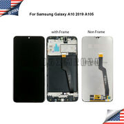 For Samsung Galaxy A10 A105 Sm-a105m/ds Lcd Touch Screen Digitizer ± Frame @us