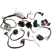 Wiring Harness Loom Solenoid Coil Cdi For Honda-style Engines 110cc 125cc Atv