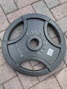 45lb Fitness Gear Weight Plates Cast Iron 45lb Pounds