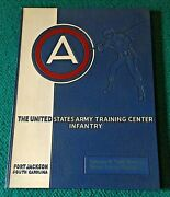 1957 Yearbook Fort Jackson, S.c. Company B/10th Battalion/2nd Training Regiment