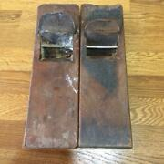 Kanna Hand Plane【lot Of 2】fast Free Shipping From Japan With Tracking 7617n