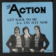 Action Get Back To Me / Any Day Now Radiogram Records 2 7 Single 45 Rpm
