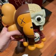 Kaws Bape Dissected Baby Milo Brown 2011 Medicom Toy Be@rbrick