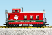 Usa Trains G Scale 12026 Christmas Woodside Caboose New Release Ltd Quantities