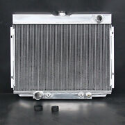Aluminum Radiator Fit Ford Fairlane Mustang Ranchero 67-70 Cougar Xr7 379 3 Rows