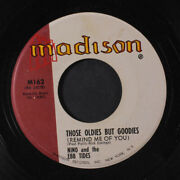 Nino And Ebbtides Those Oldies But Goodies / Don't Run Away Madison Records 7