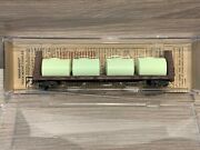 N Scale Micro Trains Weathered Southern Pacific 61' Bulkhead Flat Car 054 44 021