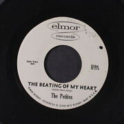 Petites Beating Of My Heart / Nobody But You Elmor Records 7 Single 45 Rpm