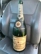 Moet And Chandon Dom Perignon Champagne Empty Bottle 5l Shop/bar Display 1960and039s