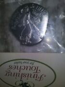 Rare Longaberger So Many Baskets So Little Time Pewter Magnet, Mint Free Ship