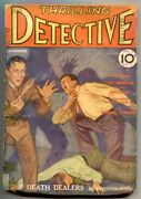 Thrilling Detective Pulp 1 11/1931- Menace Of The Shadow