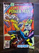 Luke Cage 1 Highly Collectable 8.5 1976 Marvel Power Man Annual