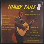 Tommy Faile Sings Brown Mountain Light Cmc 12 Lp 33 Rpm Sealed