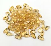 Superb Natural Citrine Pear Faceted Cut 3x5 Mm To 12x16 Mm Loose Gemstone
