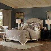 Madison Park Signature Shades Of Grey King Size Bed Comforter Duvet 2-in-1 Set B