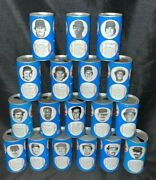 Lot Of 18 Vintage 1970s Rc Cola Cans Baseball Collectible Cans Pull Tabs Empty