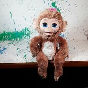 Furreal Friends 17 Electronic Interactive Cuddles My Giggly Monkey 2012