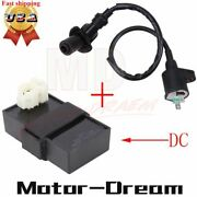 6 Pin Dc Cdi Box And Ignition Coil For Scooter Gy6 50cc 125cc 150cc Atv Moped